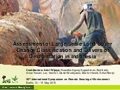 Assessment of Large Scale Land Cover Change Classification and Drivers of Deforestation in Indonesia
