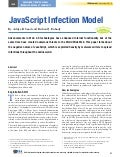 ISSA Journal Paper - JavaScript Infection Model
