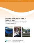 Lessons in Urban Sanitation Development
