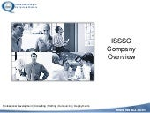 Isssc Company Overview And Course O...