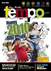 Abu Dhabi Tempo Magazine  (Issue 4)
