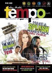 Abu Dhabi Tempo Magazine  (Issue 6)