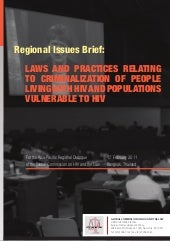 Regional Issues Brief : LAWS AND PR...