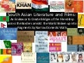 Issues in South Asian Literature and Films
