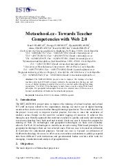 Metaschool.cz - Towards Teacher Com...