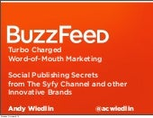 Buzzfeed - iStrategy Chicago 2012