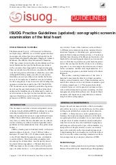 ISUOG Practice Guidelines (updated)...