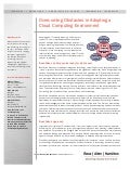 Overcoming Obstacles in Adopting a Cloud Computing Environment