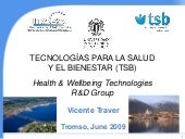 Presentation of Vicente Traver and ...
