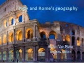 Italy and rome's geography