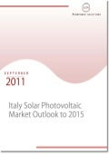 Italy Solar Photovoltaic Market Outlook to 2015