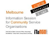 iTaNGO Information Session slides