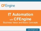 IT Automation With CFEngine - Busin...