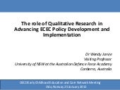 The role of Qualitative Research in...