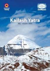 Itenary for Holy Kailash and Manasa...