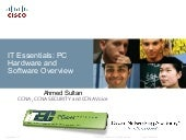 It essentials pc hardware and softw...