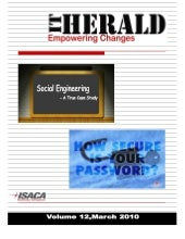 ISACA Kolkata  Newsletter march 2010