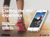 HRV Fit and Ithlete Pro