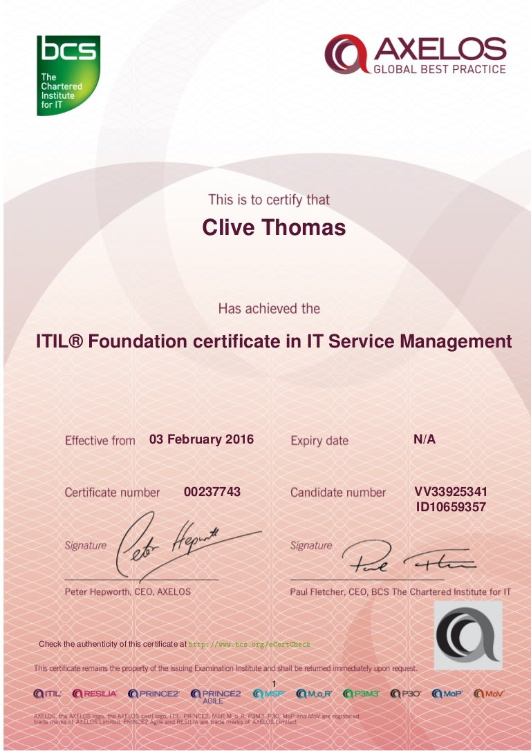 Itil Foundation Certification Training Get Certified Oukasfo