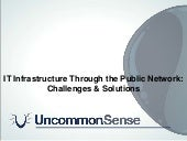 IT Infrastructure Through The Publi...