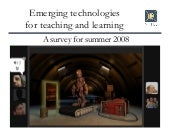 Emerging Technologies for teaching and learning: NITLE Instructional Technologists, Depauw