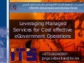 ITS E-Gov Managed Services Cost Effective Solutions