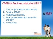 TeamProsource @ ITSMF 2010 - CMMI f...