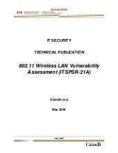 802.11 Wireless LAN Vulnerability A...
