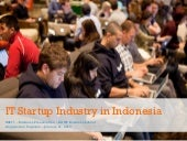 IT Startup Industry in Indonesia