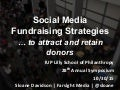 Social Media Fundraising Strategies To Attract and Retain Donors