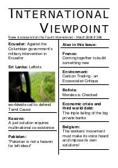 International Viewpoint Iv398 March...