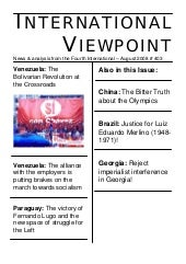 International Viewpoint Iv403 Augus...