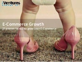 E-COMMERCE GROWTH: 25 proven tactics to grow your E-Commerce