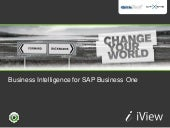 SAP Business One Business Intelligence