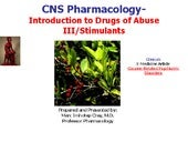 IVMS-CNS Pharmacology Intro to Drug...