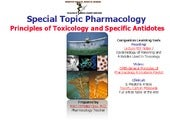 Principles of Toxicology and Anidot...
