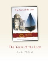 The Years of the Lion (1911 - 1920)
