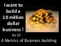 I want to build a 10 million dollar business !