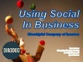 Using Social Media in Business - iWIN Forum - Scot McKee