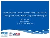 T4: Groundwater Governance in the A...