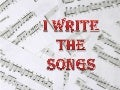 I write the songs