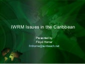 IWRM Issues in the Caribbean