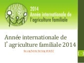 Année internationale de l'agricultu...