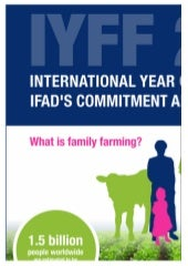 IFAD and International Year of Family Farming (IYFF)