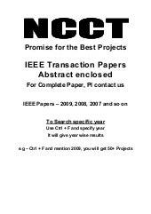 J2 E E  Projects,  I E E E  Project...