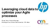 Leveraging Cloud data to optimize your product decisions and Agile processes - Ronen Aseo & Efrat Egozi Levi
