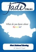 Jade Romania-Introduction to ROMANIA