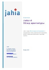 Jahia 6 Overview (in russian)