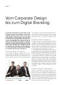 Vom Corporate Design bis zum Digital Branding.
