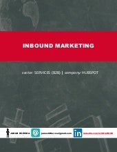 Inbound Marketing: HubSpot